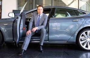 Elon Musk says Tesla is working on a secret new vehicle that could replace public transport