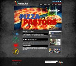 Connection Christian Church - New website Design by Redwood Valley Technical Solutions