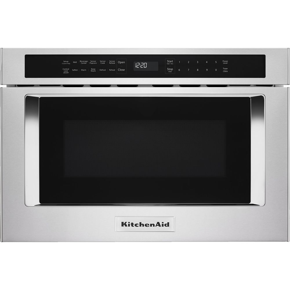 Kitchenaid 24 Quot 1 2 Cu Ft Built In Microwave Drawer