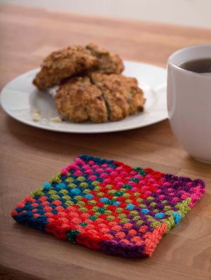 Loom Woven Coasters Free Loom Pattern Loom Knitting Patterns
