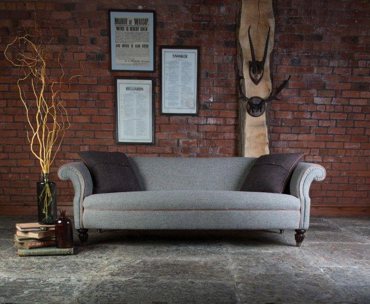 Chesterfield Sofa Showroom tetrad harris tweed bowmore sofa home harris tweed