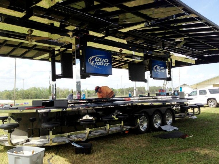 Bud Light Build A Bar Saturday Down South Mobile Bar