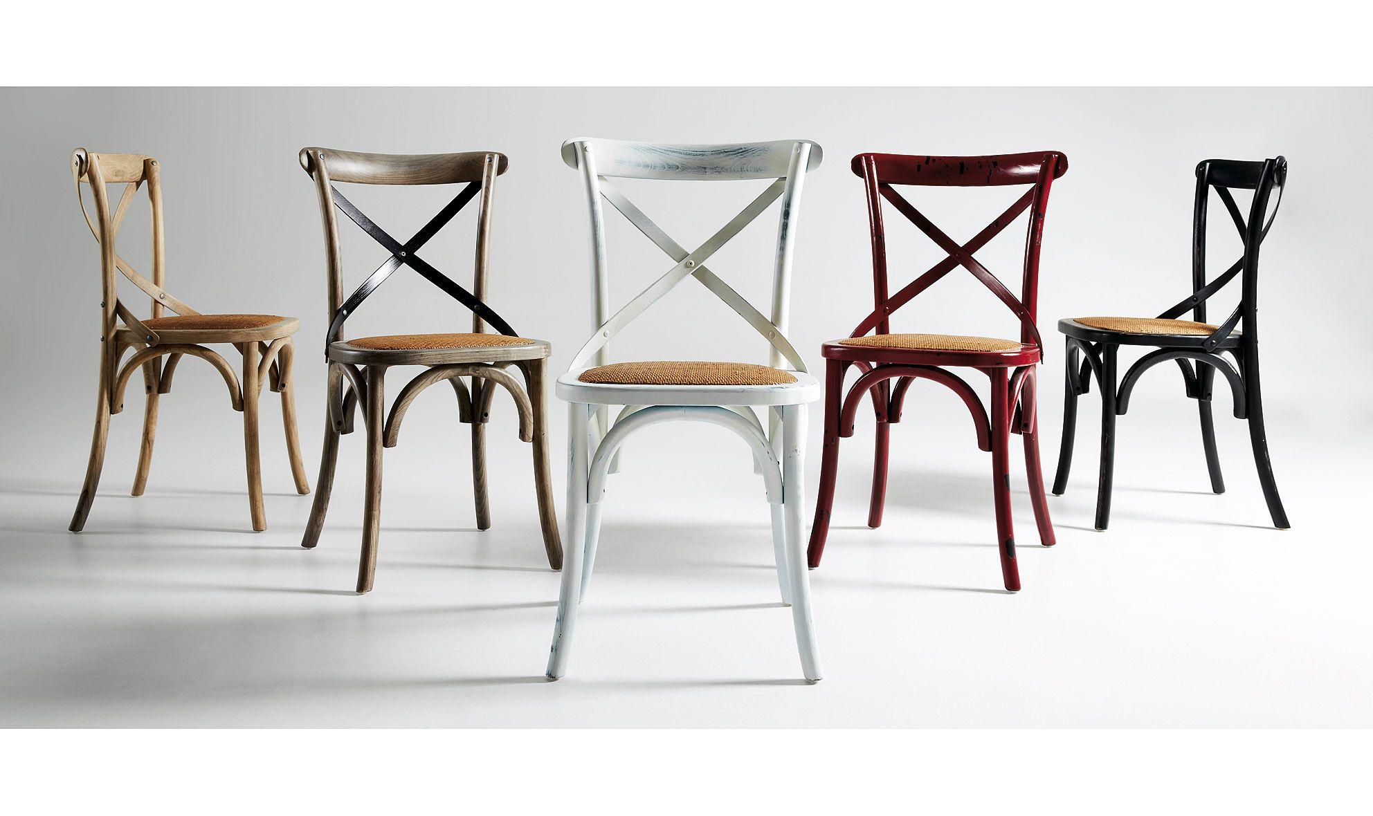 Silla Vintage Alsie Material Madera De Olmo Silla En Madera De  # Muebles Retro Baratos
