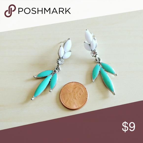 Floral leaf Earrings Floral leaf Earrings Jewelry Earrings