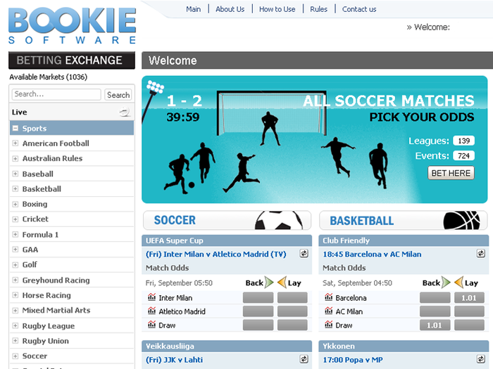Bookie betting software images different golf betting games wolf
