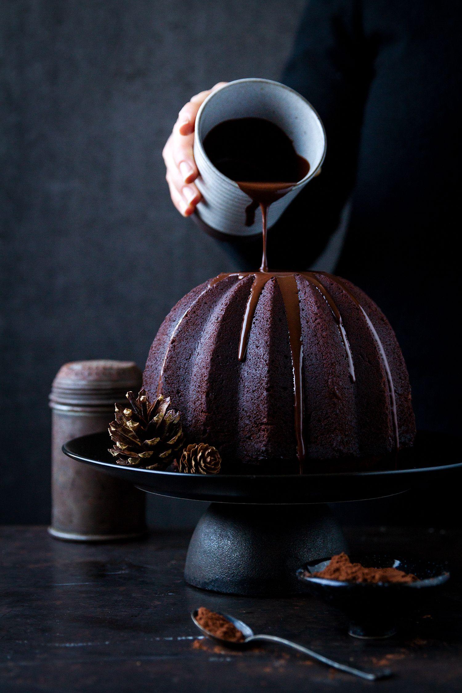 Lebkuchen Schokolade Gugelhupf — nom-nom
