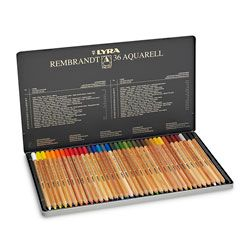Lyra Rembrandt Polycolor Premium Oil Based Colored Pencils 36
