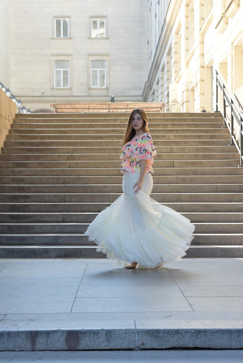 Luxury Soft Tulle Skirt White Tulle Skirt Full Lining Skirt Etsy In 2021 Tulle Maxi Skirt White Tulle Skirt Full Tulle Skirt [ 1184 x 794 Pixel ]