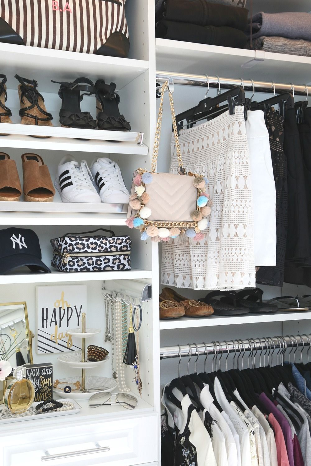 Tips and tricks for design and organizing a closet organization ...