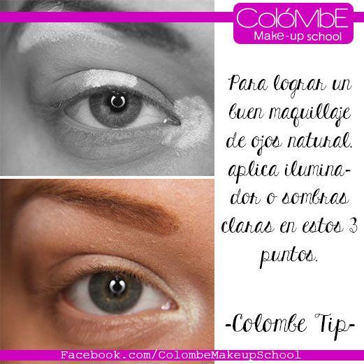 maquillaje de ojos natural con iluminador comparte este tip es de los mejores