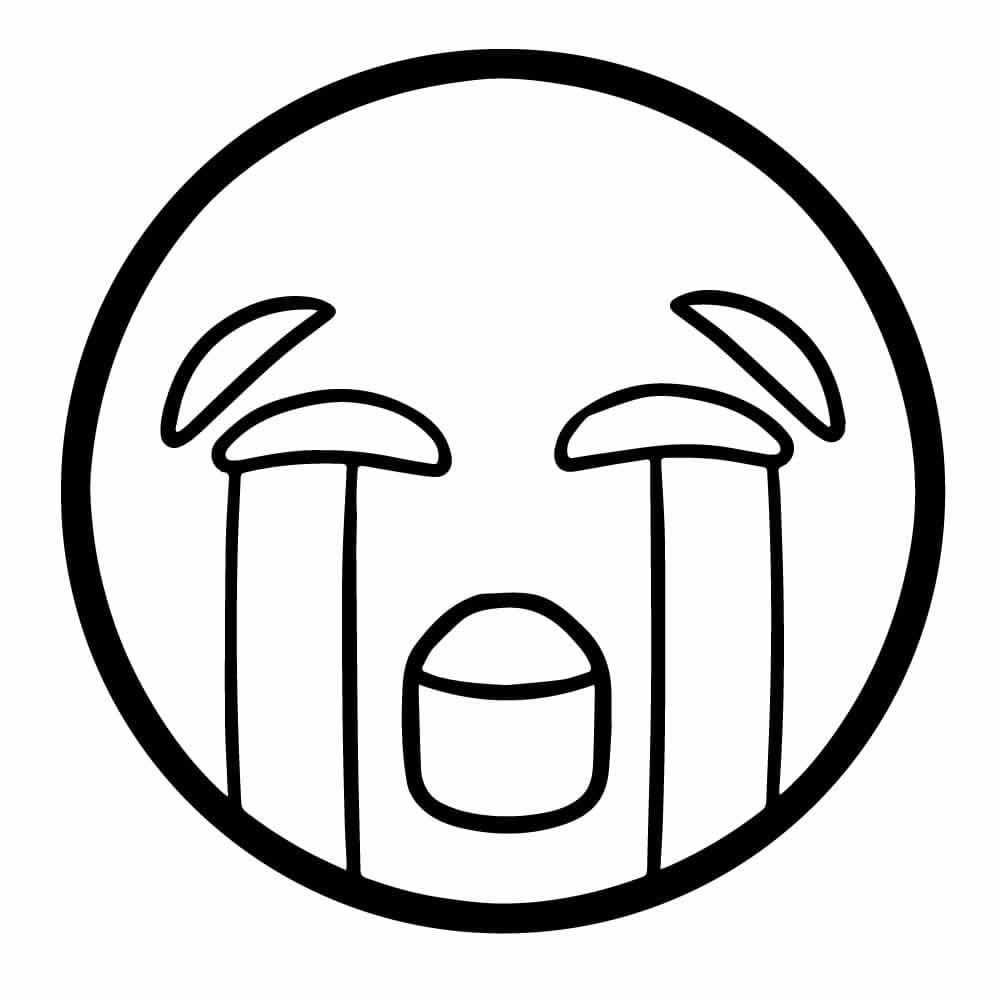 En Esta Sección Encontraras Dibujos De Emojis Para Colorear En Un
