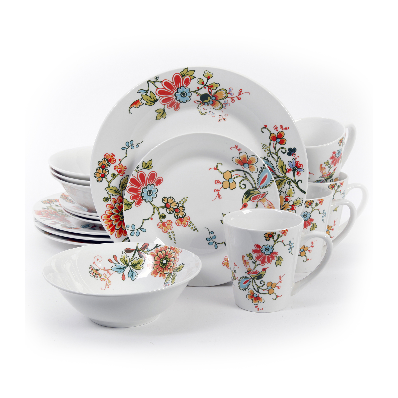 Gibson Doraville 16 Piece Dinnerware Set Multi  sc 1 st  Pinterest & Gibson Doraville 16 Piece Dinnerware Set Multi | Products ...