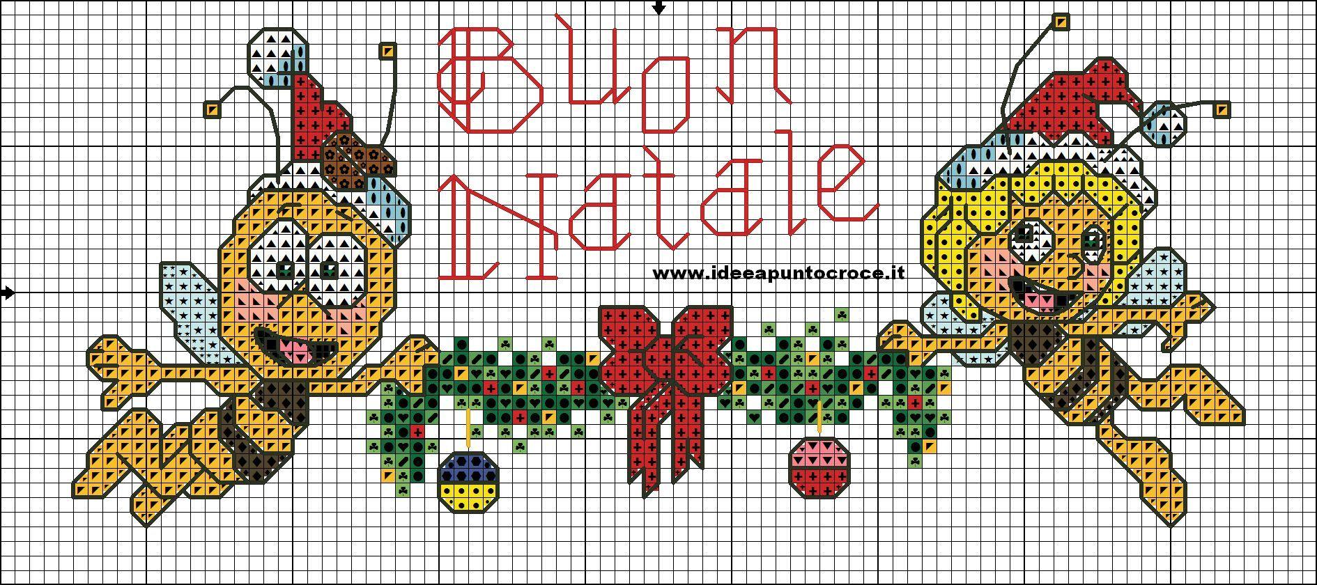 Schema natalizio ape maia e willy schemi natalizi