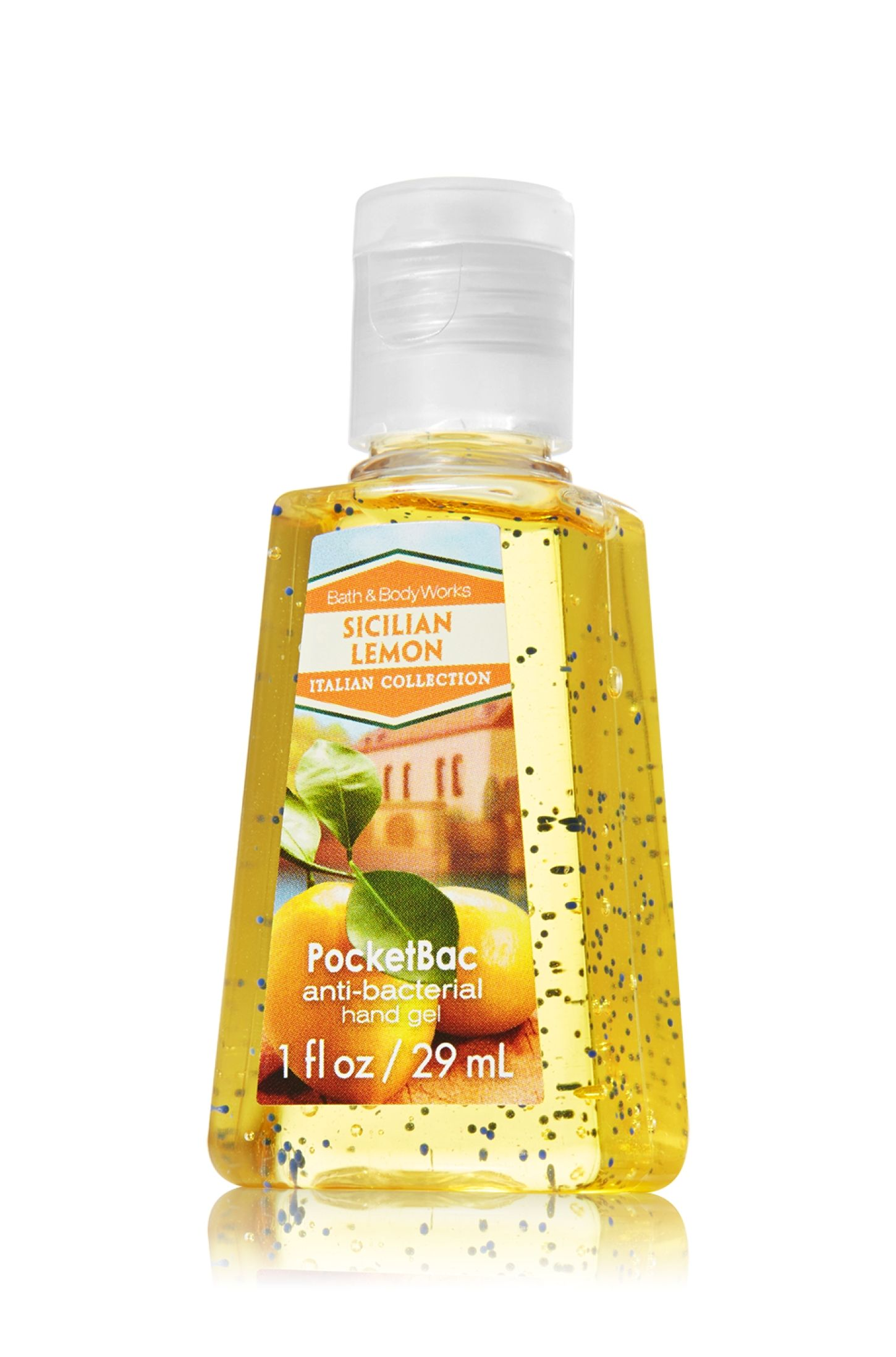 Sicilian Lemon Pocketbac Sanitizing Hand Gel Anti Bacterial