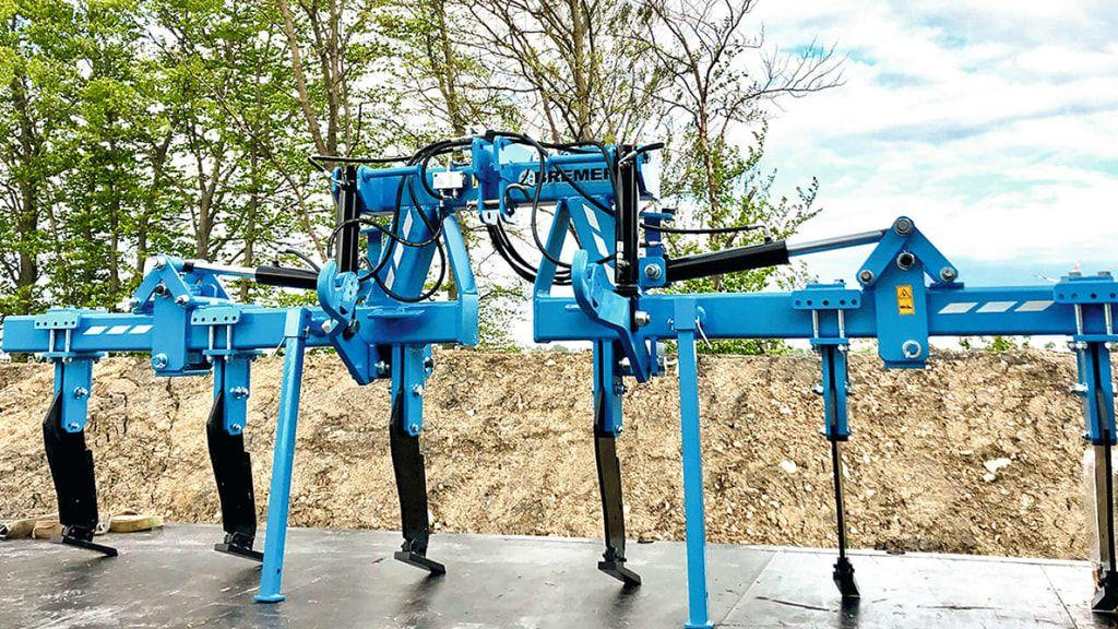 Reihenabhangige Lockerung Mit Bremer Maschinenbau Maschinenbau Bau Agrar