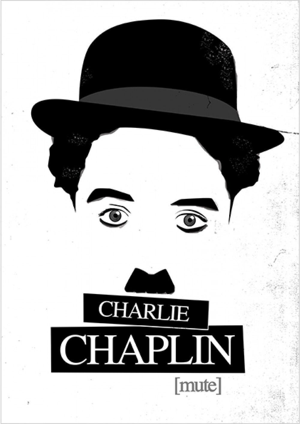 charlie chaplin charlie chaplin com dia filmes posters minimalistas bookmarkers. Black Bedroom Furniture Sets. Home Design Ideas