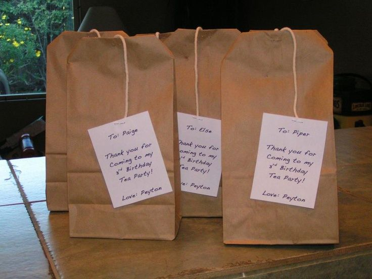 brown+bag+lunch+party | Tea Bag party favors for each kid brown ...