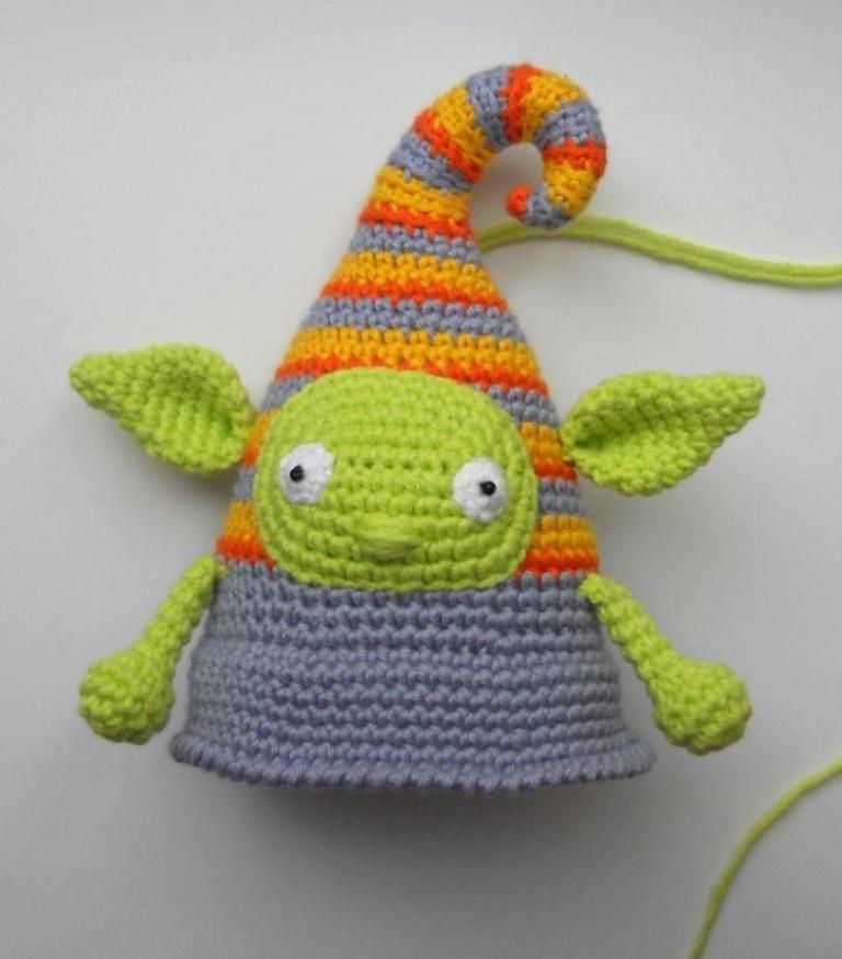 Crochet elf doll amigurumi pattern   Patrones amigurumi y Patrones