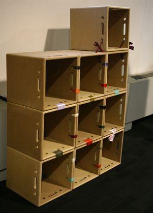 Riciclo Creativo Come Costruire Una Libreria In Cartone