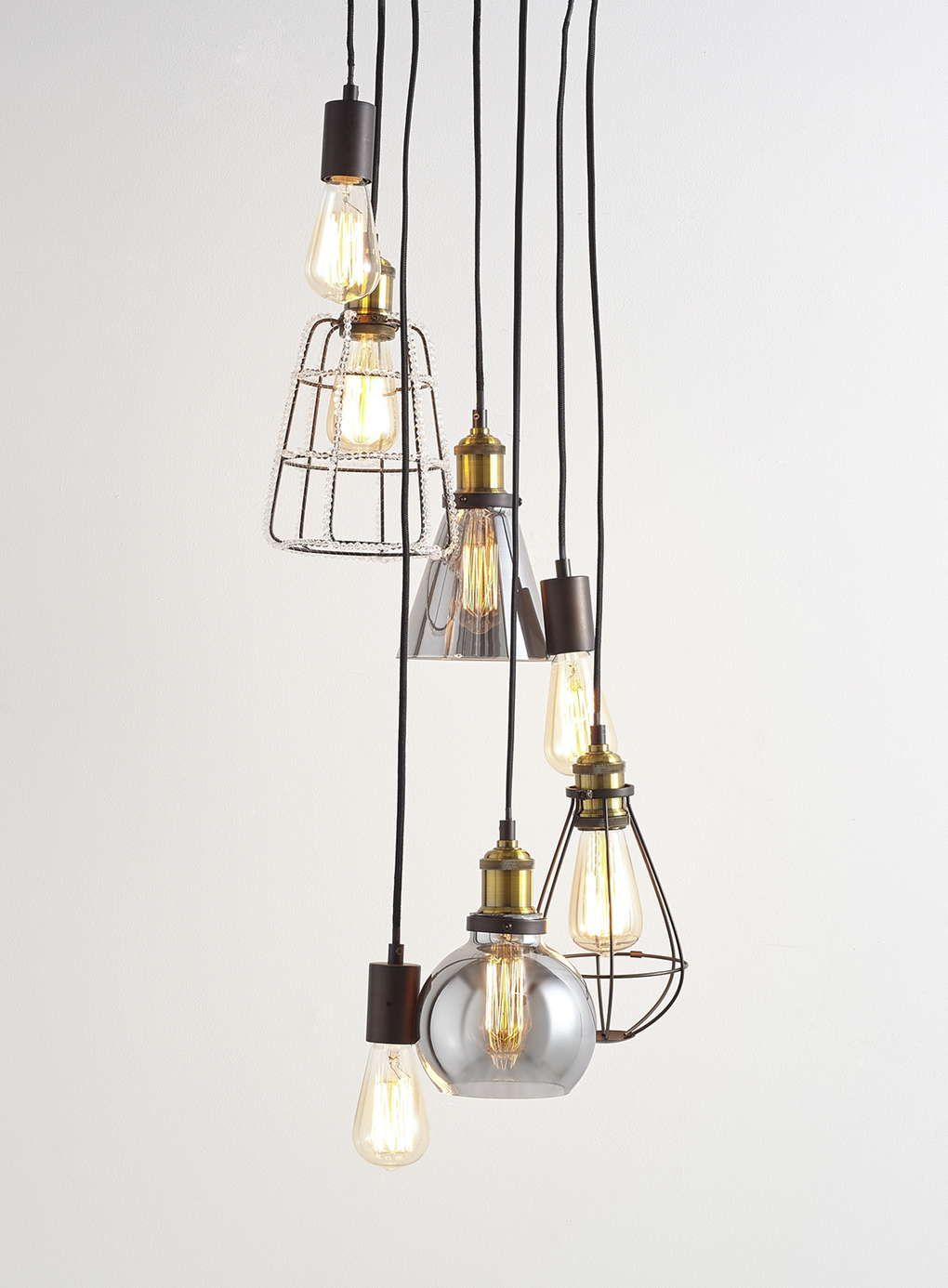Bronze Herve Cluster Ceiling Light - BHS | Home | Pinterest | Bhs ...