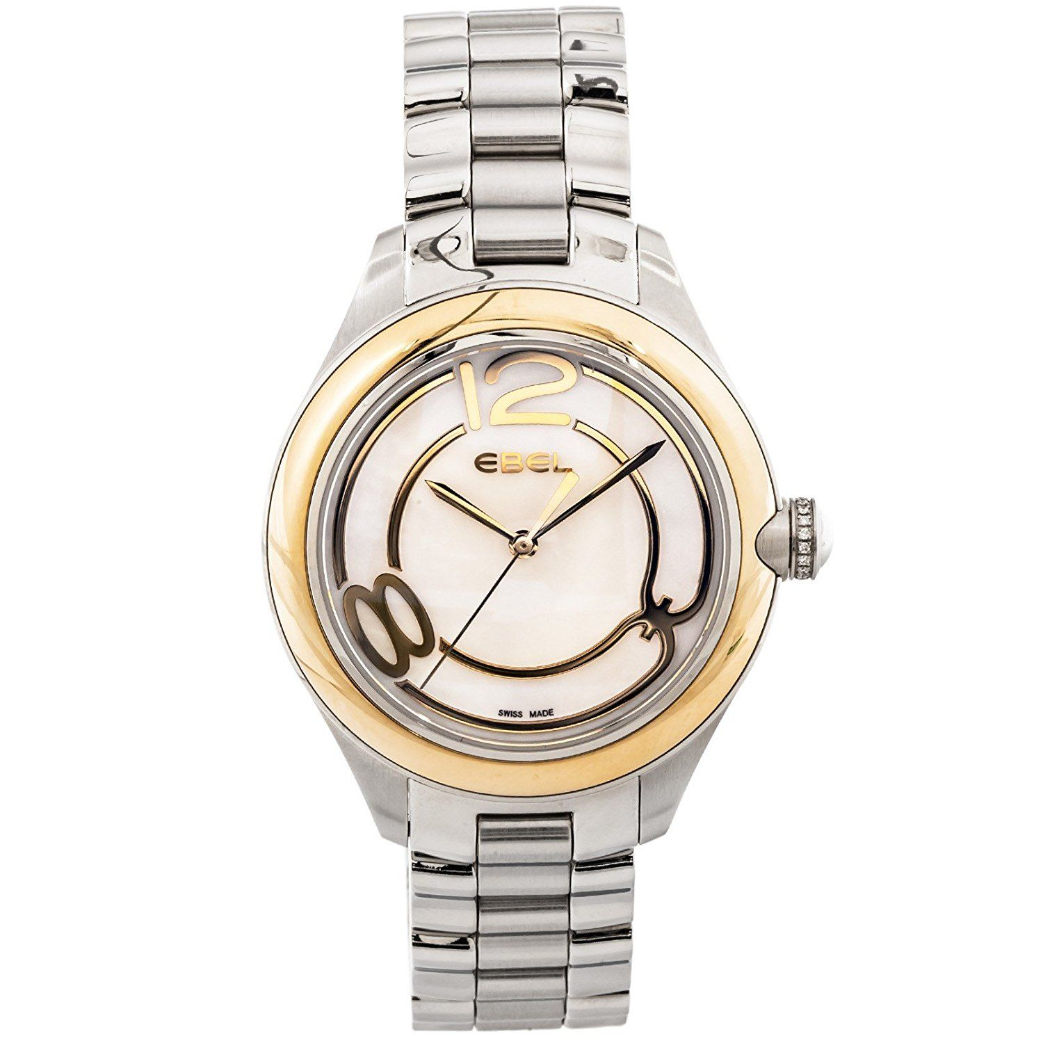 Ebel Onde quartz mother-of-pearl womens Watch 1216104 (Certified Pre-owned) -- Discover this special product, click the image