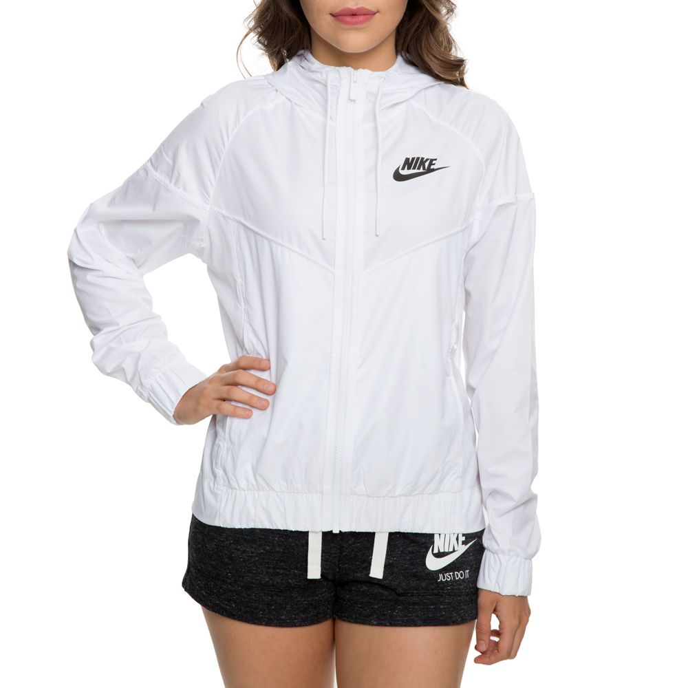 f7dafeed Women's nike windrunner jacket white/black in 2019 | Carissa's stuff ...