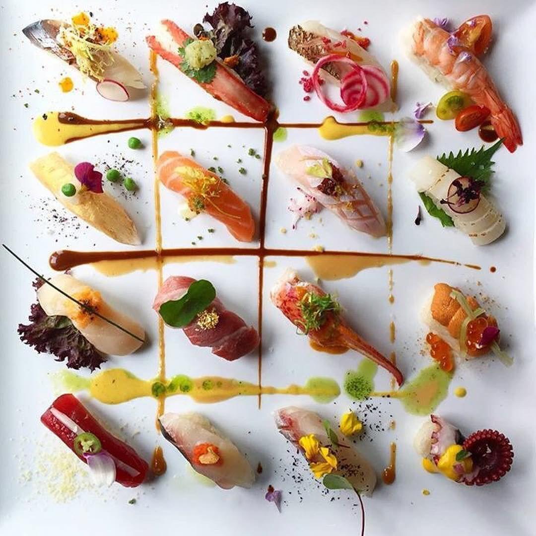 Como reinterpretar la comida Japonesa @chefjohn un gran diseñador de platos.  posted via #chefstalk #Repost @chefstalk  #lasvegas #palazzo #sushi #samba #japan #peru #brazil #london #newyork #coralgables #miami #sashimi #foodporn #sushiporn #cheflife #chefstalk #theartofplating #sushipornme #gastronogram #beautifulcuisines #foodstarz #myfab5 #dontshootthechef #instafood #eeeeeats #foodblog #f52grams #feedfeed by jazminycanela
