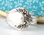 Spoon ring on Etsy $20.00