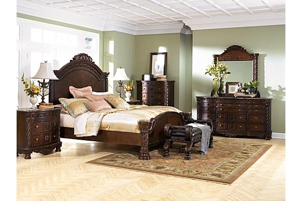 the north shore panel bedroom set from ashley furniture homestore