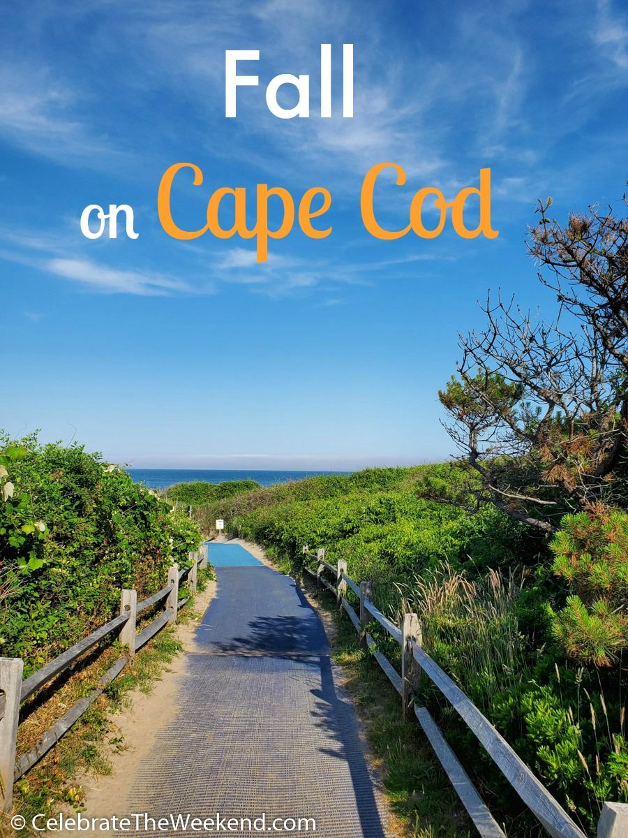 Fall is a great time to visit the famous Cape Cod