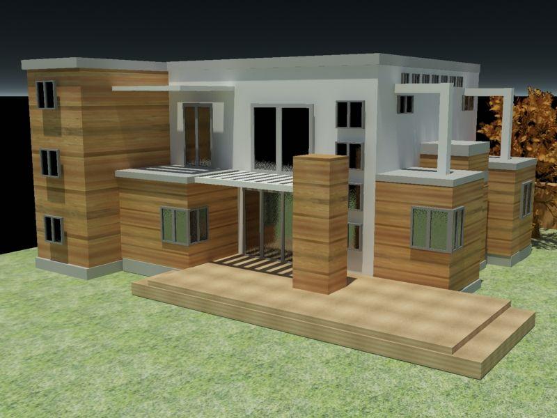 House structure 3d model House design ideas Pinterest D