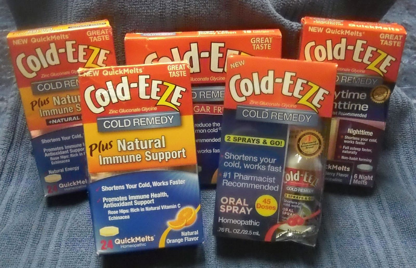 Mary's Cup of Tea Cold-EEZE Cold Products Review & Giveaway