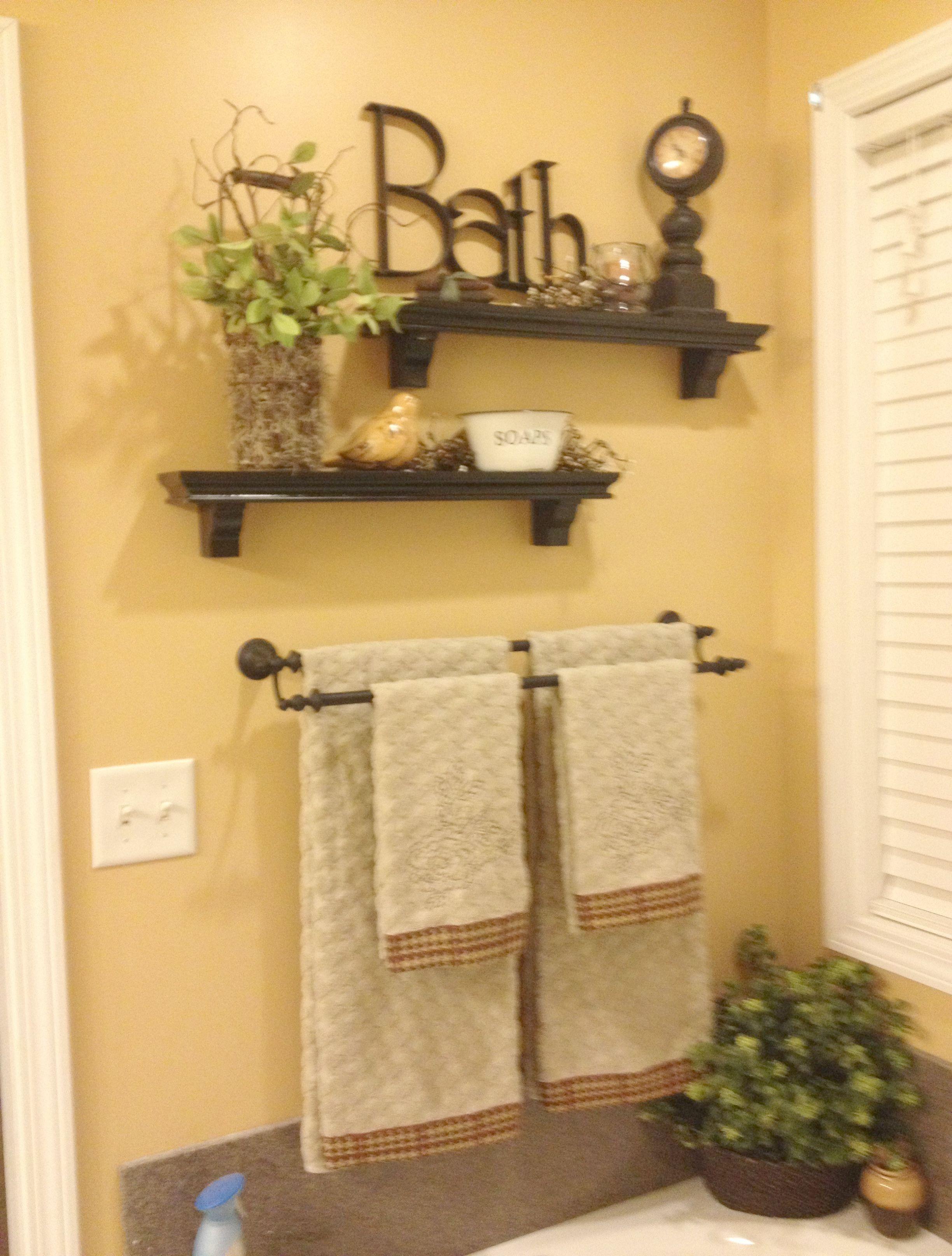 Country Bathroom Sink Ideas Rustic Elegant Bathroom Ideas Bathroom Decor Diy Bathroom Decor Bathroom Wall Decor
