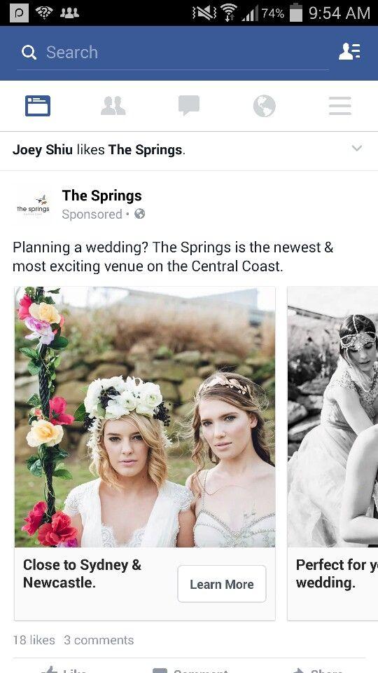 Wedding Ad Facebook Ads Examples Best Facebook Wedding