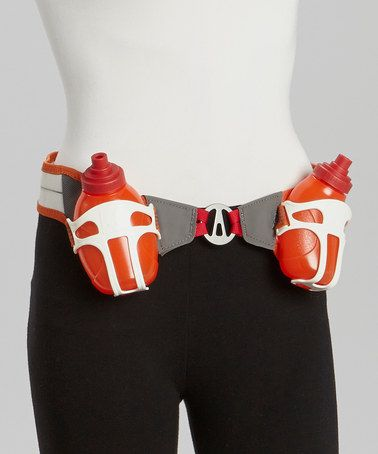 This Red Speed 2R Auto-Cant Hydration Belt is perfect! #zulilyfinds