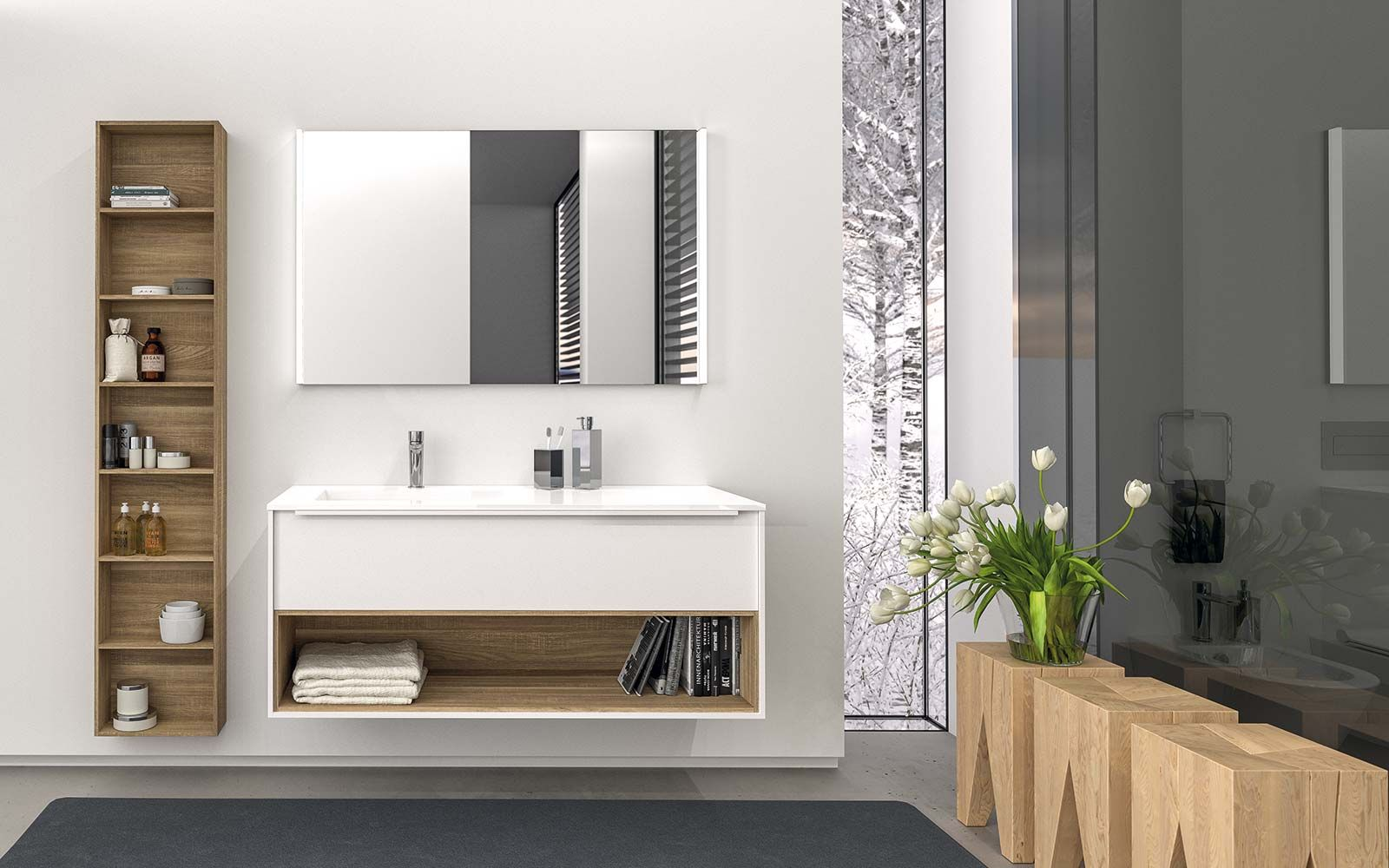Berloni Bagno - bathroom furnishings | SPECS // Interior Casework ...