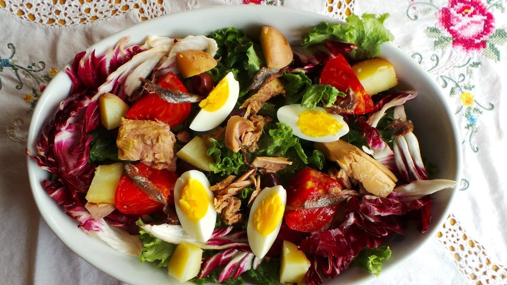 Salade collioure recipe summer salads recipes salad