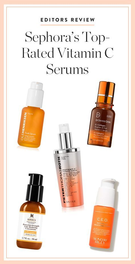 5 PureWow Editors Put Sephora's Top Vitamin C Serums to the Test
