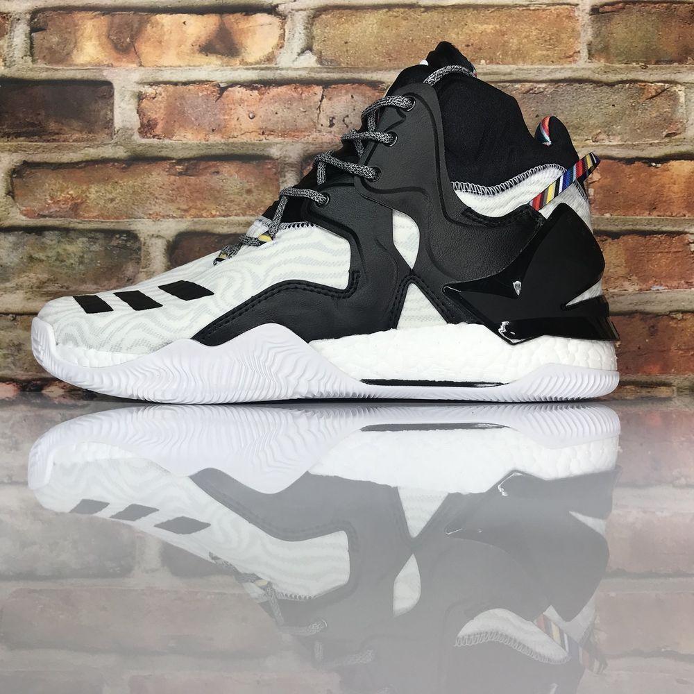 wholesale dealer c3621 8d15c eBay  Sponsored Adidas BY3475 adidas D Rose 7 BHM Mens 11.5 Basketball Shoe  Metallic Gold