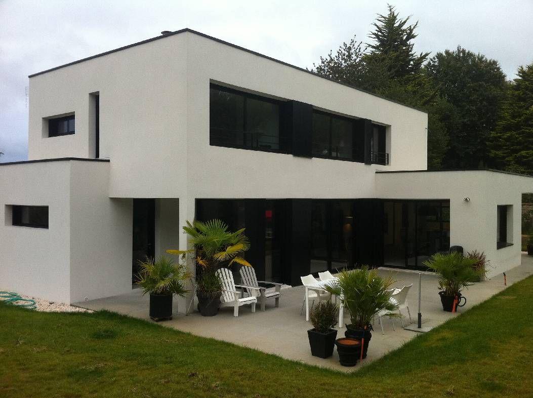R sultat de recherche d 39 images pour extension toit plat for Maison moderne sans toit