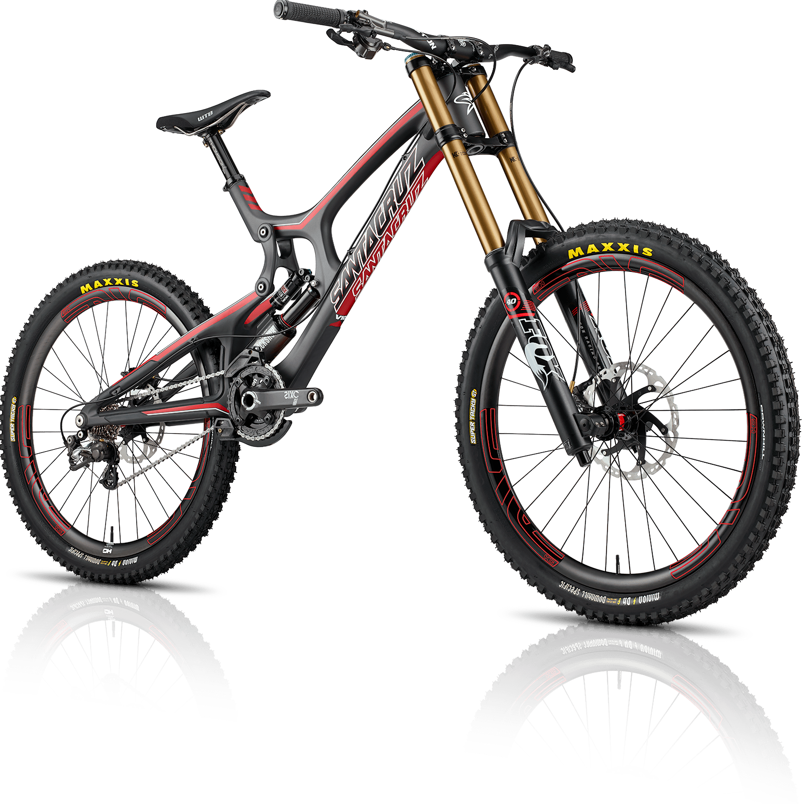 Santa Cruz Bicycles V10 Carbon Downhill Bike Bicycle Mt Bike