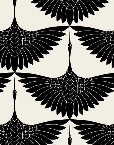 #textile #carrie #hansen #design #swanCarrie Hansen Swan Textile Design #texturespatterns