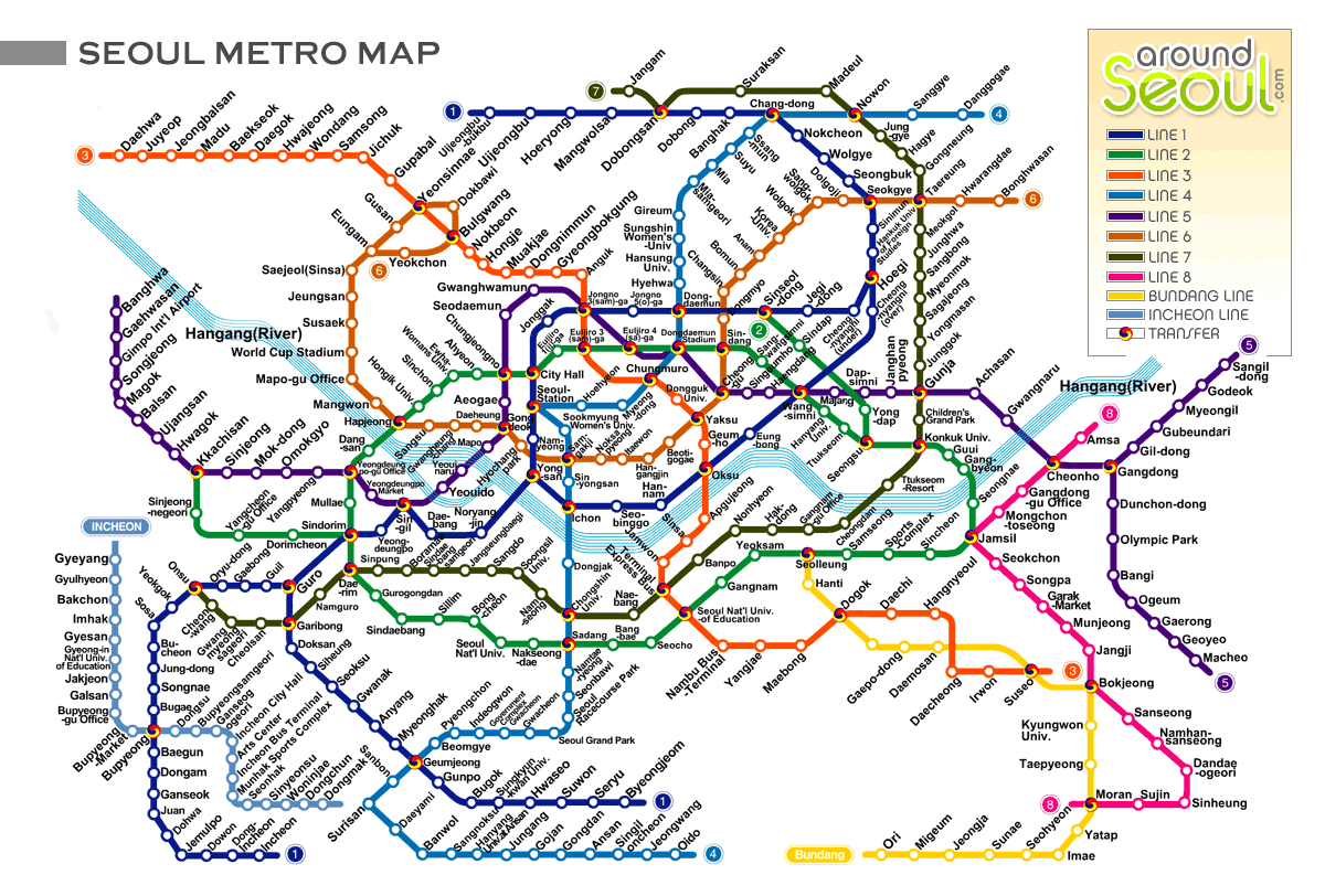 Ansan Seoul Subway Map.Travel Korea Tips For First Timers In Seoul Places To Visit In