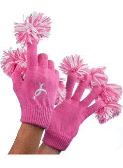 Pattern for breast cancer symbol mittens assured, what
