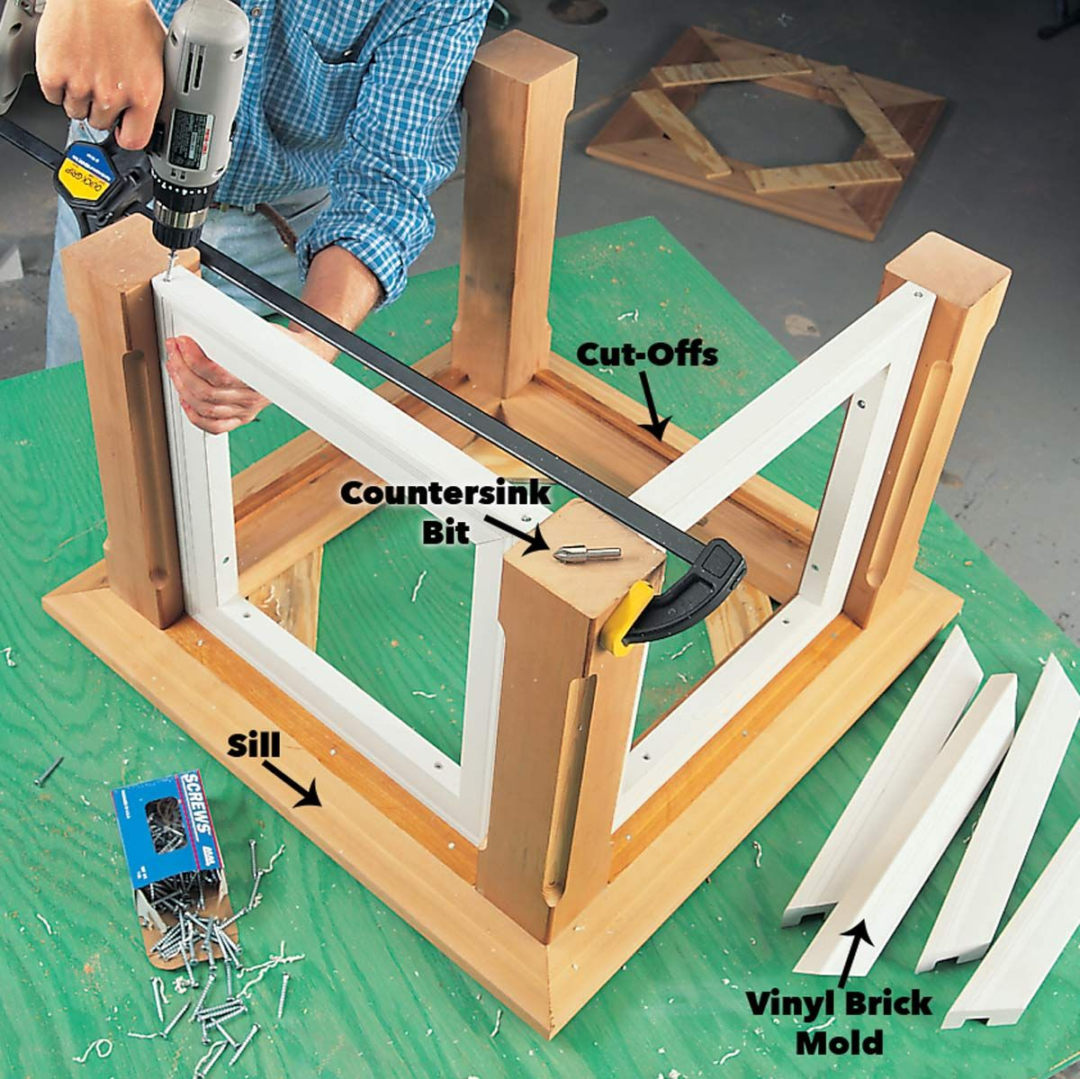 How To Build A Cupola Cupolas Shed Plans Brick Molding