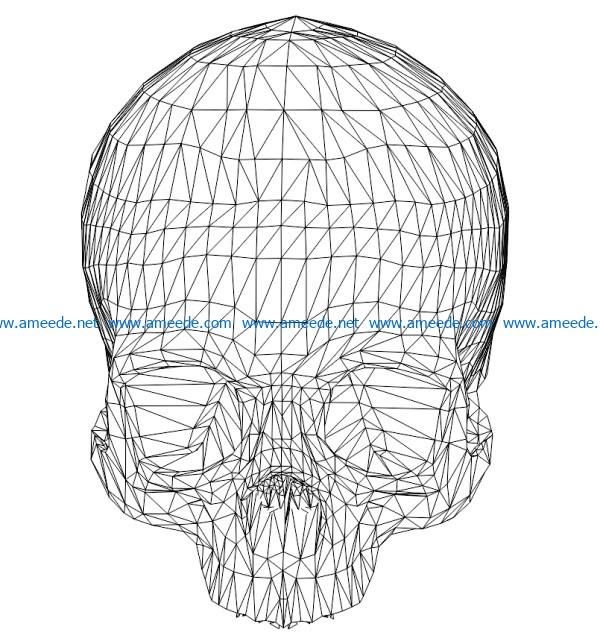 3d Illusion Led Lamp Skull Free Vector Download For Laser Engraving Machines Download Free Vector In 2020 Vector Free Vector Free Download Laser Engraving Machine