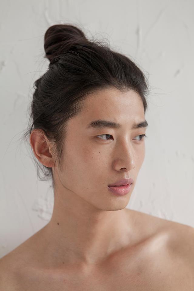 Agree, rather asian bun short hair you