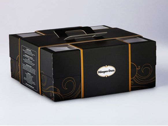 luxury cake packaging - love that this also had a handle | packaging ...