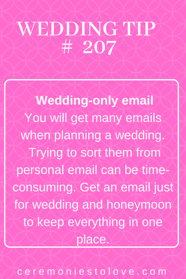 Brides You Will Love This Wedding Planning Tip When Follow Advice Find It Easier To Keep Your Focused