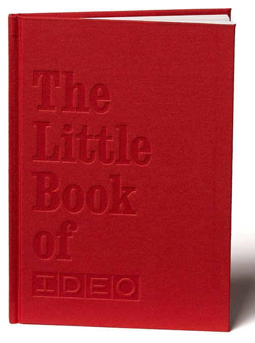 Image Of The Cover Of The Little Book Of Ideo Ideo Little Books Global Design